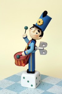 Carlos Lischetti Toy Soldier Sugarcraft