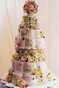 Colette Peters Prince of Greece Wedding Cake
