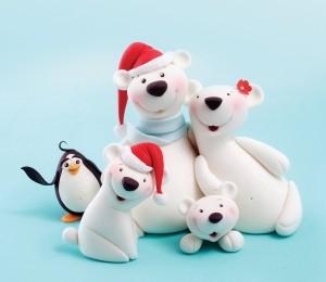 Carlos Lischetti Polar Bears Sugarcraft