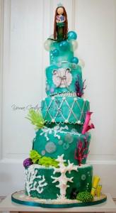 Mermaid Cake Jamie Hoffman