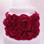Red rose sugarcraft