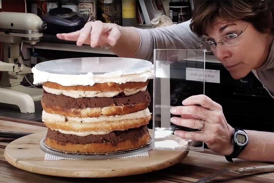 acrylic-cake-discs